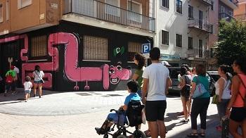 813d326287aad Visita guiada a la galería urbana de ZOES - Aviva Salamanca