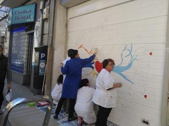 1b2d42e566879 AVIVA ya tiene su espacio en la Galería Urbana del Barrio del Oeste ...