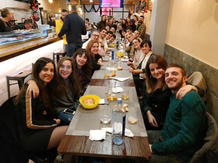 Cena de los voluntarios de AVIVA