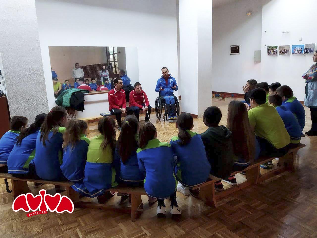 Programa en centros escolares - Deporte paralímpico