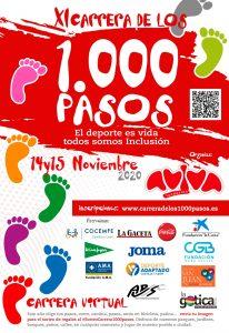 Cartel de la Carrera de los 1000 pasos